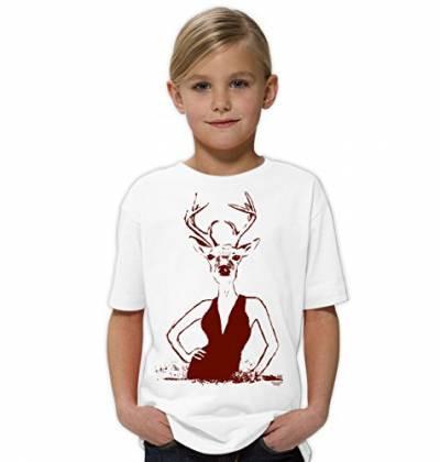 Geburtstagsgeschenk Mädchen 4 Jahre  T Shirts von Soreso Design in Weiß für Damen