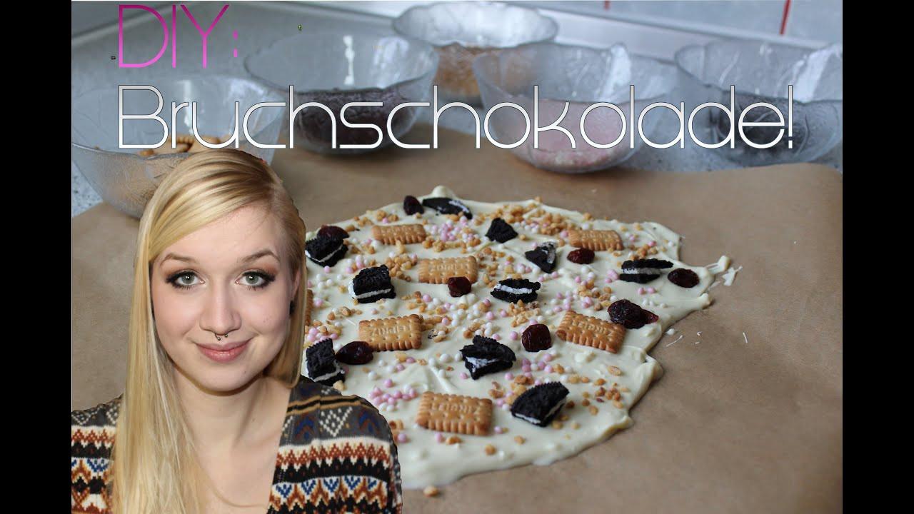 Geburtstagsgeschenk Oma Diy  DIY Bruch Schokolade