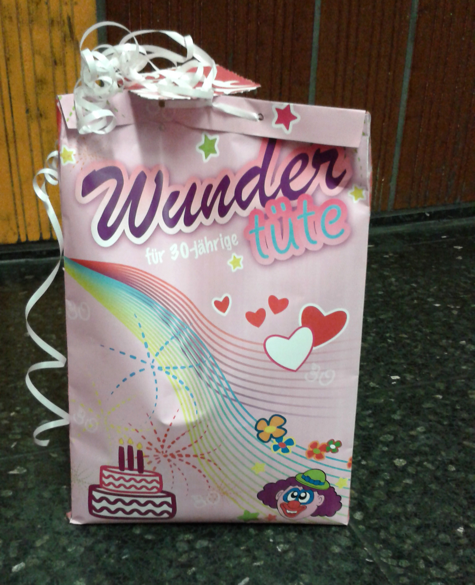 Geburtstagsgeschenk Oma Diy  Geburtstagsgeschenk DIY Wundertüte – huemelswelt
