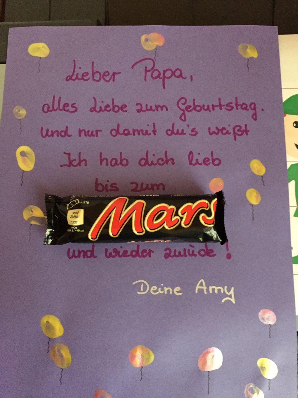 Geburtstagsgeschenk Papa Basteln  Für Papa zum Geburtstag 1 Pinterest