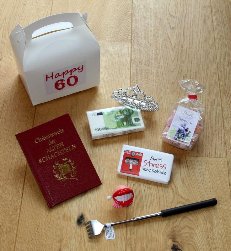 Geburtstagsgeschenk Zum 60  60 Geburtstag Geschenk Idee 60er Geschenke Geschenkidee