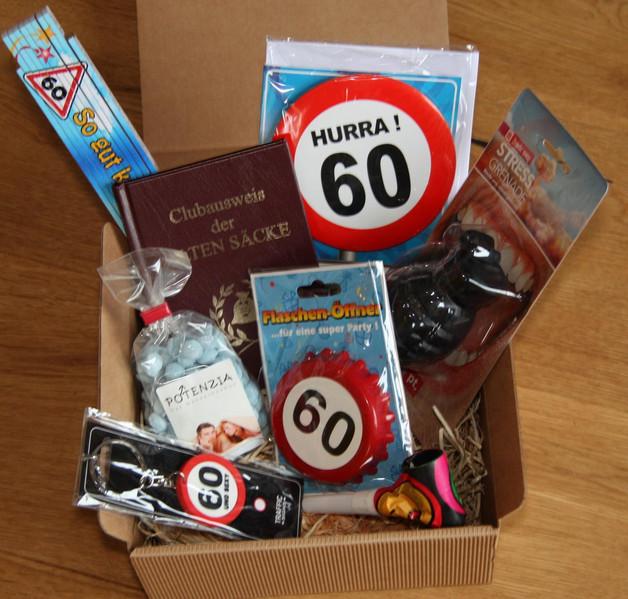 Geburtstagsgeschenk Zum 60  Geschenke für Frauen 60 Geburtstag Geschenk Mann ein