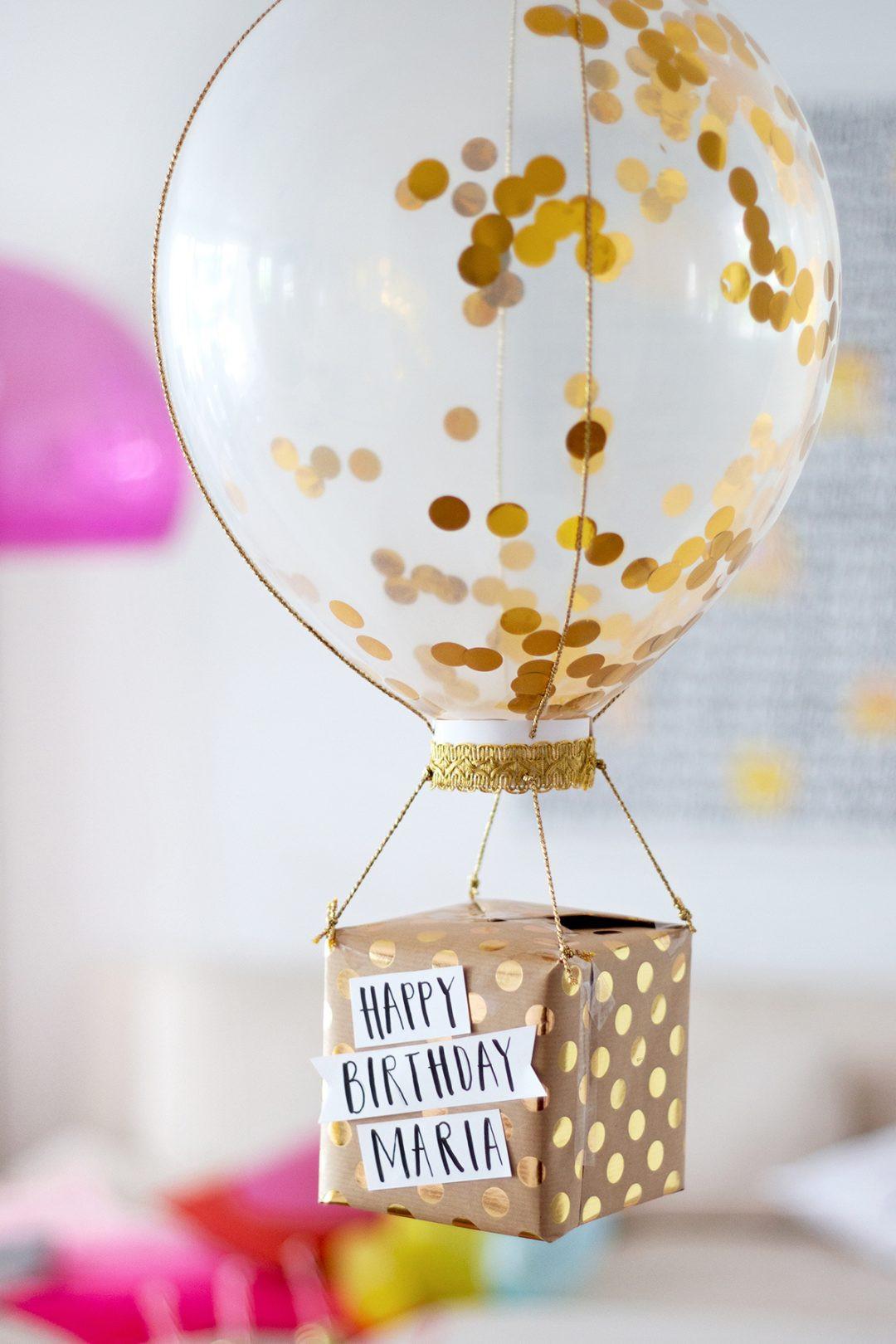 Geburtstagsgeschenke Diy  Geburtstagsgeschenke selber machen Drei DIY Ideen •