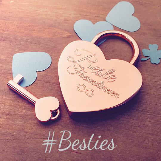 Geburtstagsgeschenke Für Die Beste Freundin  Geschenk für beste Freundin ein Freundschaftsschloss