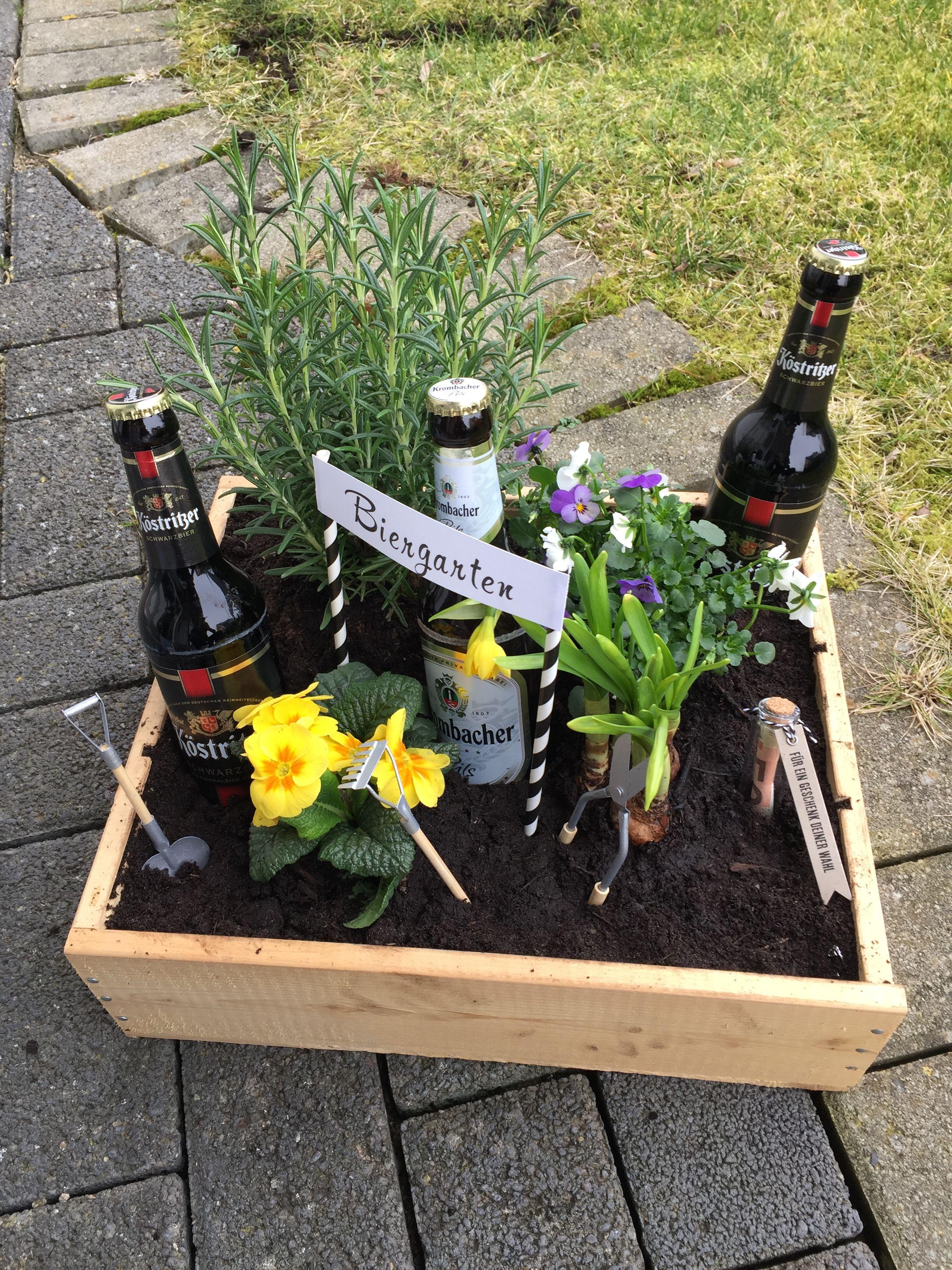 Geburtstagsgeschenke Für Jungs  Die besten 25 Gutschein basteln biergarten Ideen auf