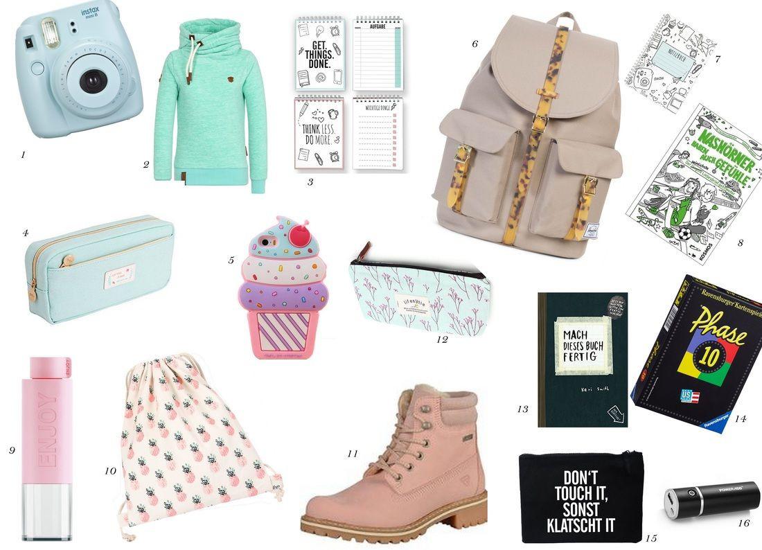 Geburtstagsgeschenke Für Mädchen  Geschenke für Teenager Wishlist Teenie Party