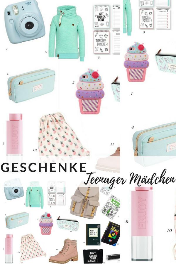Geburtstagsgeschenke Für Mädchen  Geschenke Teenager – Wishlist für Teenie Party
