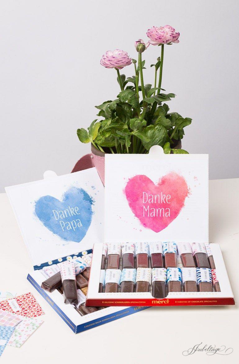 Geburtstagsgeschenke Für Mama Diy  Merci selbst gestalten Ein persönliches Geschenk basteln