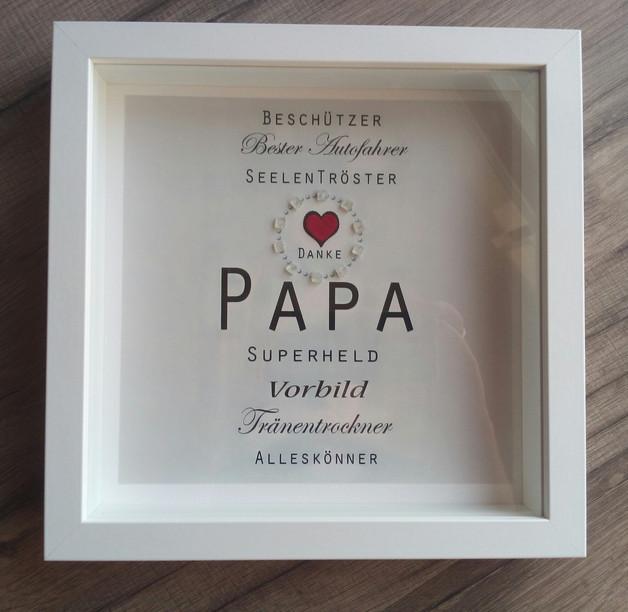 Geburtstagsgeschenke Für Papa  Bilderrahmen Weihnachtsgeschenk Papa Geburtstag