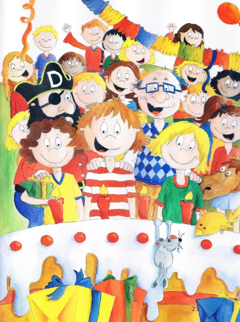 Geburtstagsgeschenke Kinder  Geburtstagsgeschenk für Kinder Hurra Ich habe Geburtstag