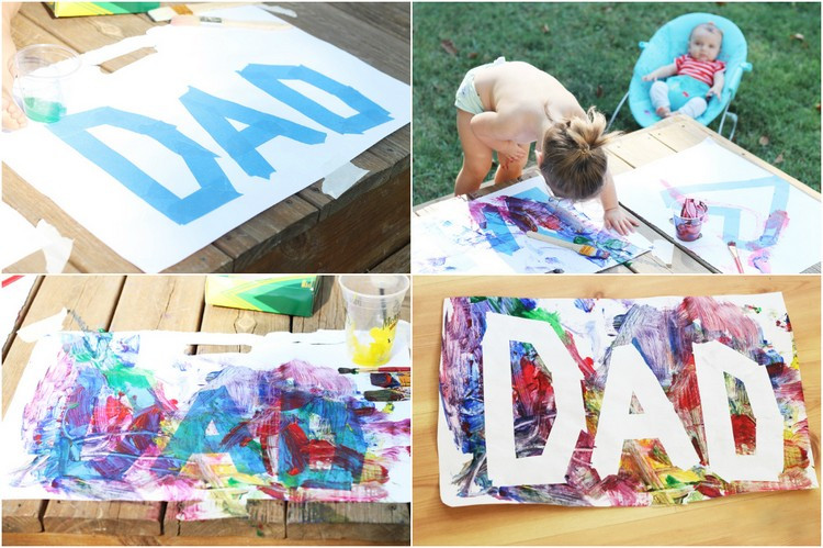 Geburtstagsgeschenke Kinder  Vatertagsgeschenke basteln mit Kindern jedes Alters 17