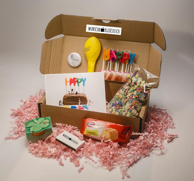 Geburtstagsgeschenke Selbstgemacht  Geschenke für Frauen GlückwunschBox für SIE Grösse S