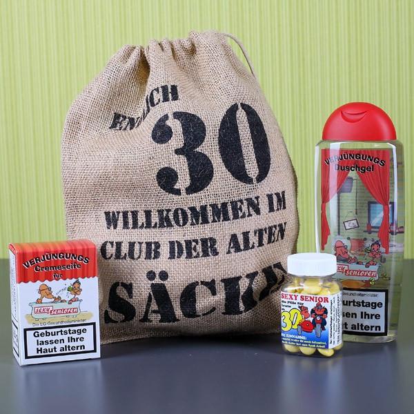 Geburtstagsgeschenke Zum 30  Geschenkset zum 30 Geburtstag