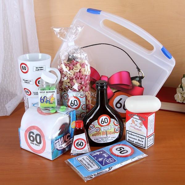 Geburtstagsgeschenke Zum 60  Überlebenskoffer für Frau ab 60