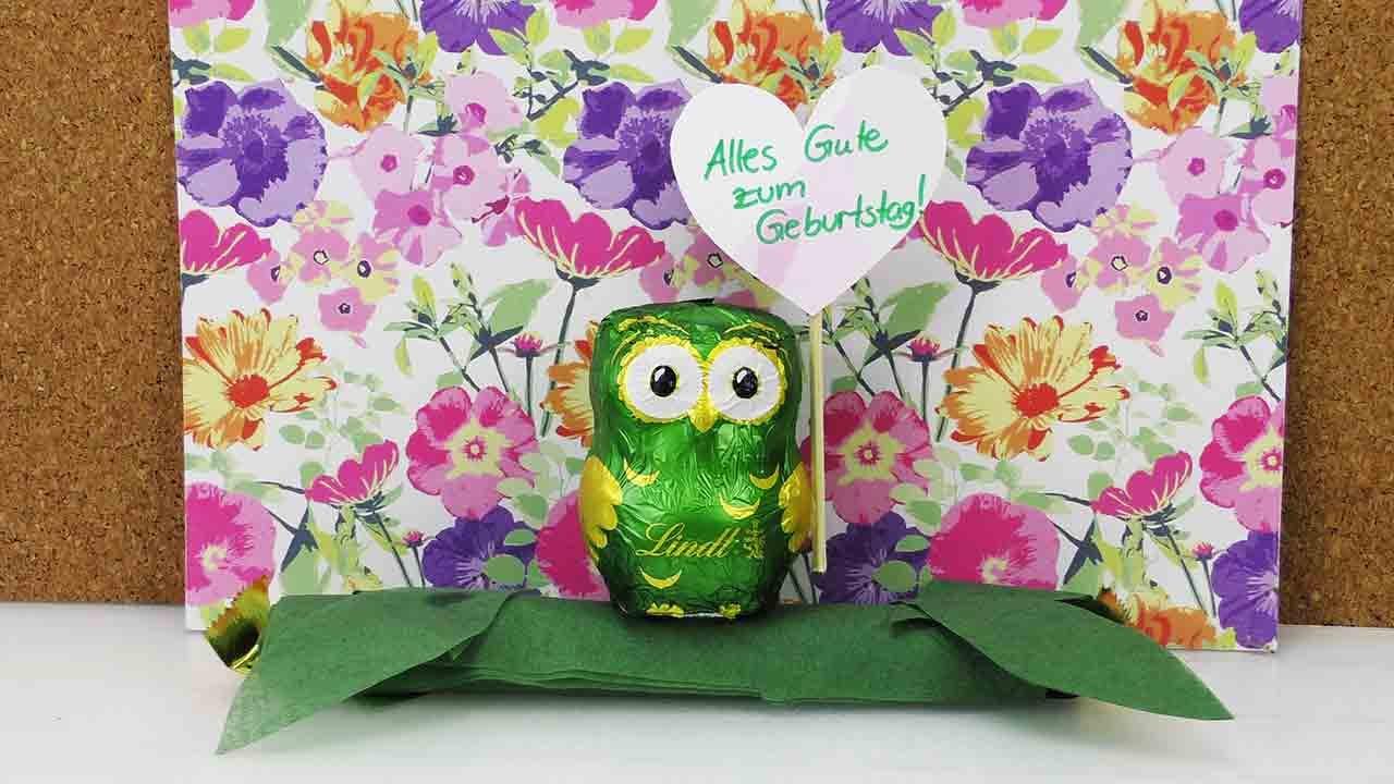 Geburtstagsgeschenke Zum Selbermachen  Süße Geburtstagsgeschenk Idee