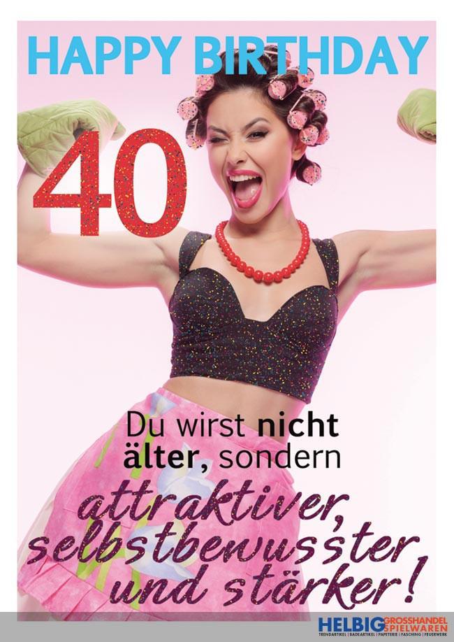 Geburtstagsglückwünsche 40  Glückwunsch Zum Geburtstag Einer Frau