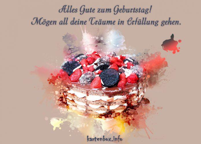 Geburtstagsglückwünsche Für Kind  Geburtstagsglückwünsche für einen geliebten Menschen