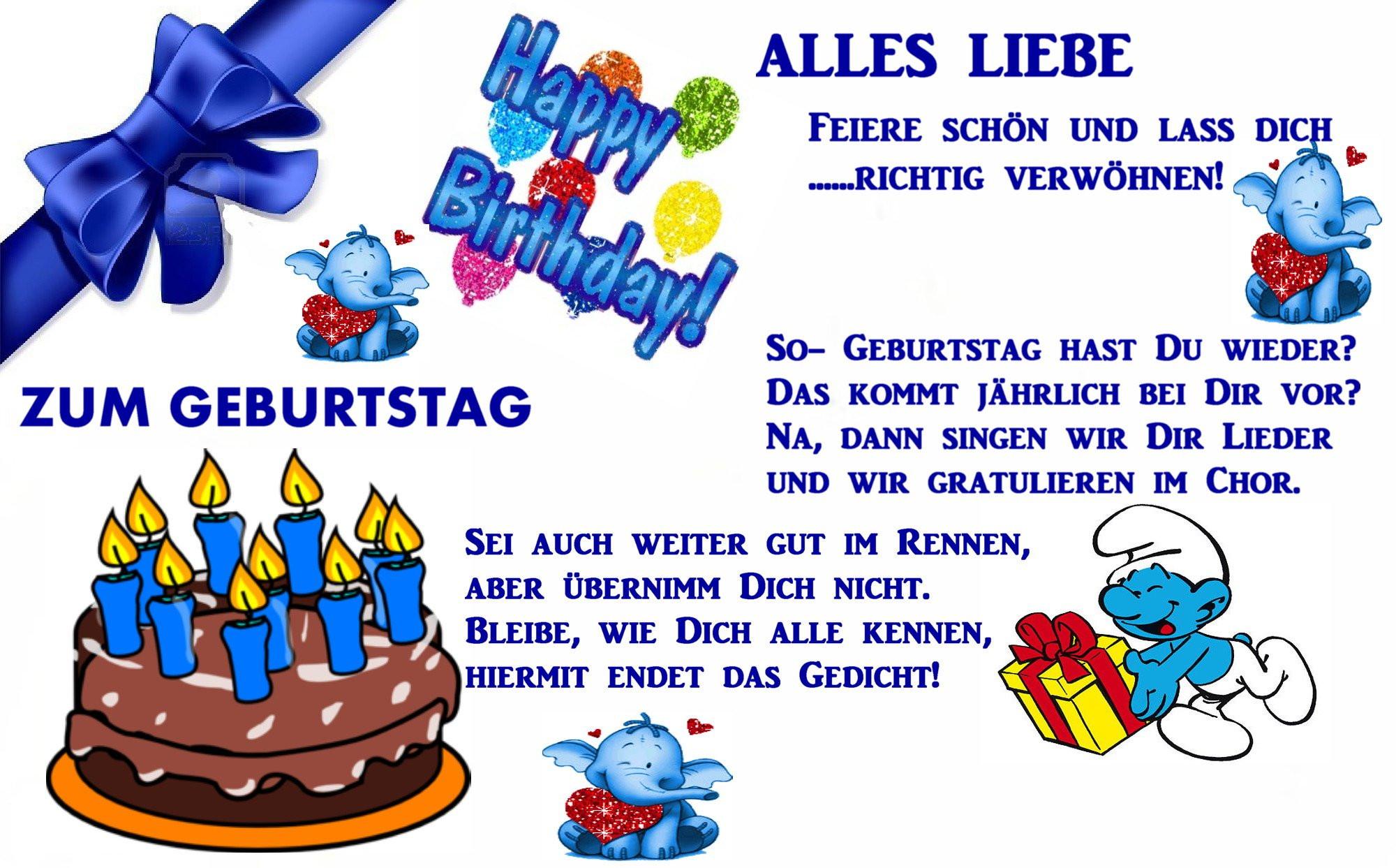 Geburtstagsglückwünsche Mann  Glückwünsche Zum Geburtstag Patentante Alles