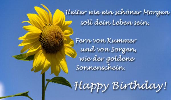 Geburtstagsglückwünsche Mit Bildern  Happy Birthday Lisa Rain myheimat