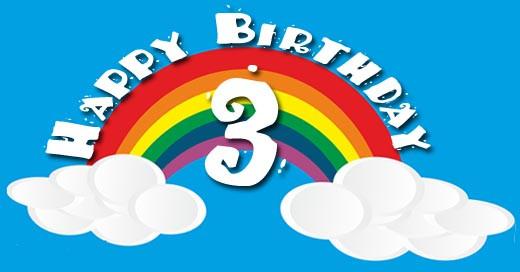 Geburtstagsgruß Kind  3 Geburtstag Glückwünsche für Kinder