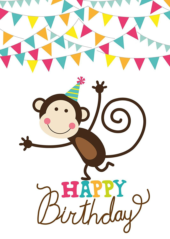 Geburtstagsgruß Kind  15 Geburtstagskarten für Kinder 5 Motive mit jeweils 3