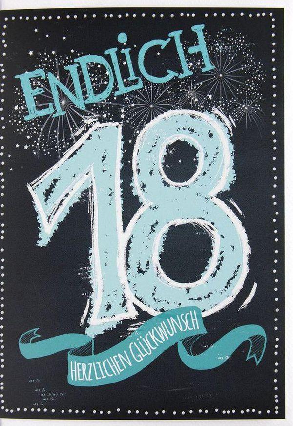 Geburtstagsideen Zum 18  Sprüche zum 18 Geburtstag Freche und Lustige Gratulieren
