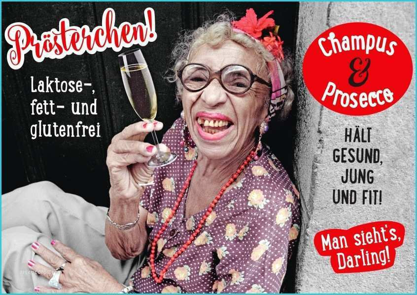 Geburtstagskarten Für Frauen  Geburtstagskarten Lustig Für Frauen Fresh Prösterchen