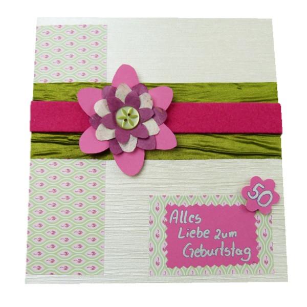 Geburtstagskarten Für Frauen  Wunderschöne Geburtstagskarten selber basteln