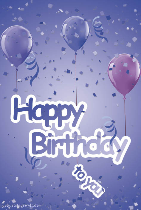 Geburtstagskarten Gratis  Geburtstagskarten Kostenlose Vorlagen zum Ausdrucken und