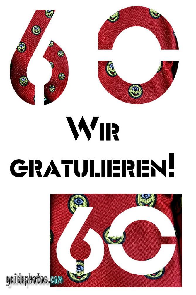 Geburtstagskarten Gratis  Zum 60 Geburtstag Karten kostenlos