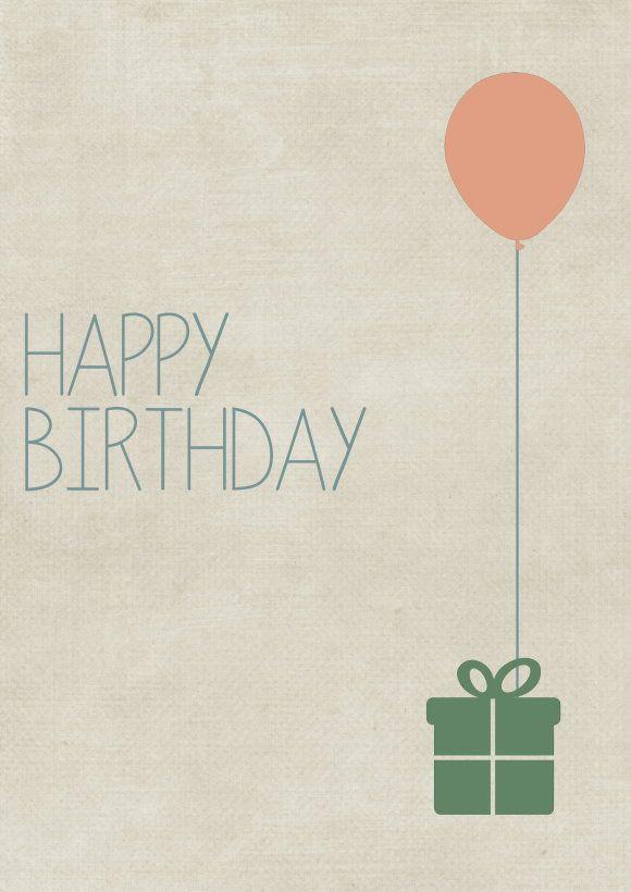 Geburtstagskarten Kostenlos Herunterladen  Kostenlose Geburtstagskarte zum Herunterladen und