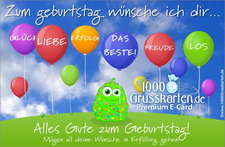 Geburtstagskarten Kostenlos Versenden  Animierte Geburtstagskarte Geburtstag E Cards