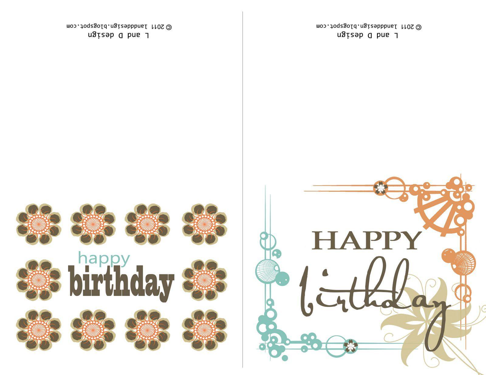 Geburtstagskarten Kostenlos Versenden  Geburtstagskarten Layout Kostenlos