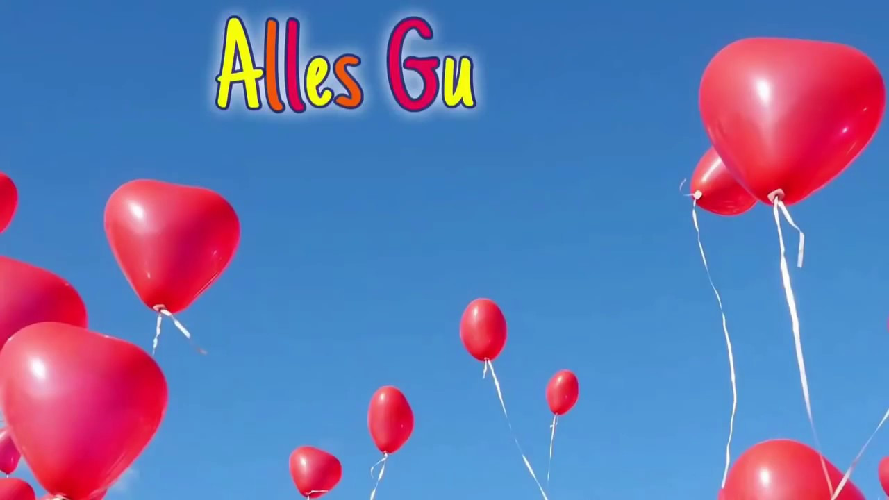 Geburtstagskarten Mit Musik  Geburtstagswünsche Alles Gute zum Geburtstag Animierte