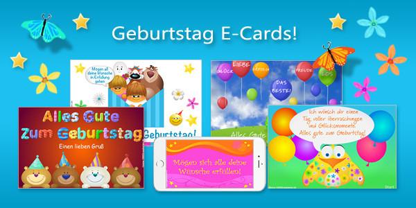 Geburtstagskarten Mit Musik  E Cards Grusskarten Geburtstag E Cards