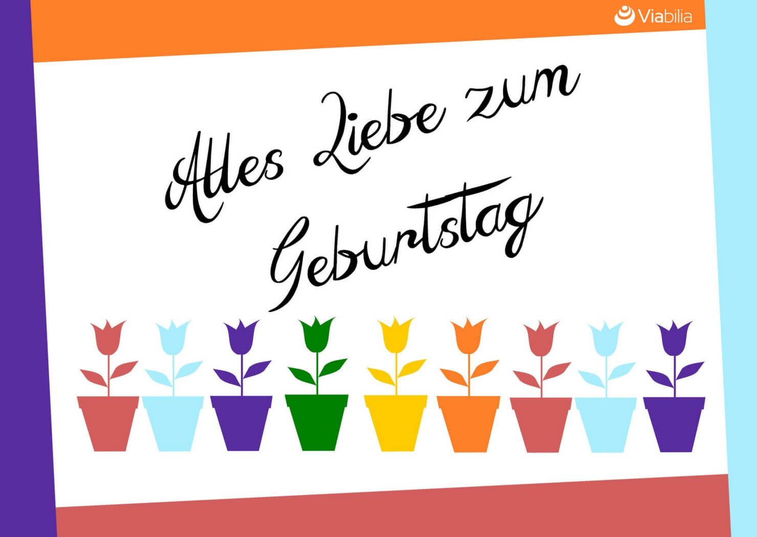 Geburtstagskarten Selber Drucken  Geburtstagskarten kostenlos als PDF ausdrucken