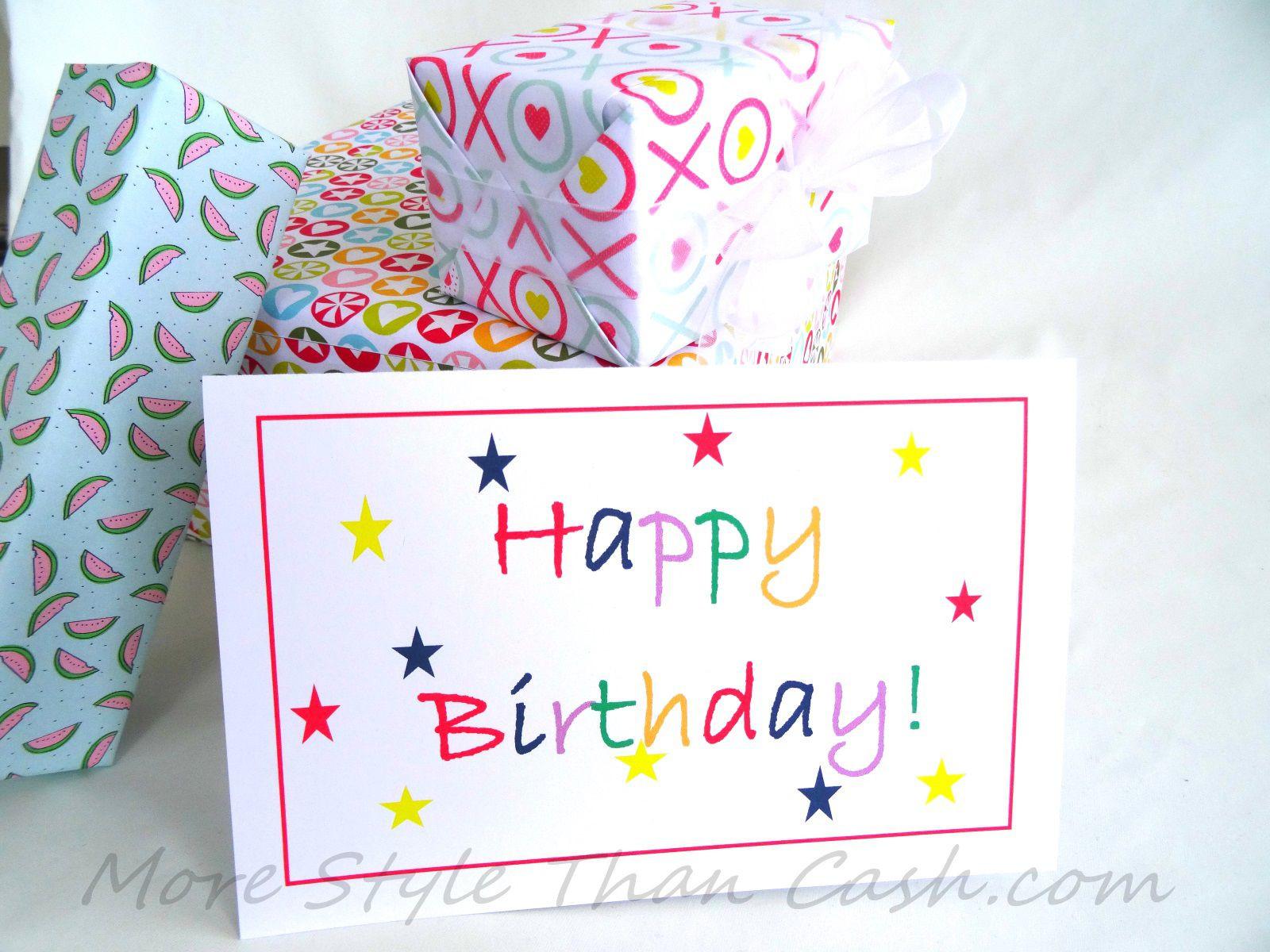 Geburtstagskarten Selber Drucken  Geburtstagskarten Selber Machen Vorlagen Kostenlos