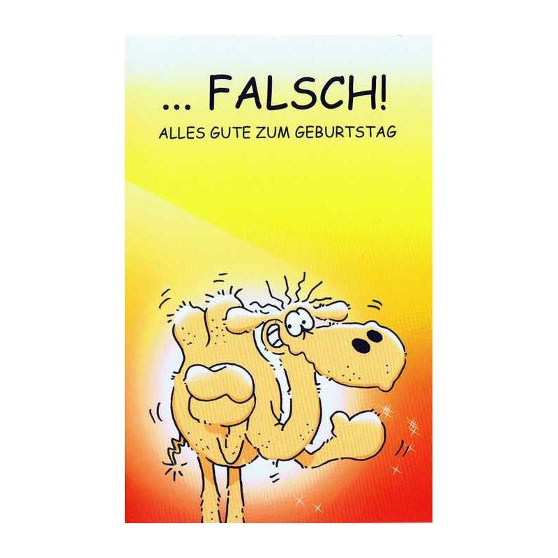 Geburtstagskarten Text  Geburtstagskarte Humor mit frechen Text RF 64 46