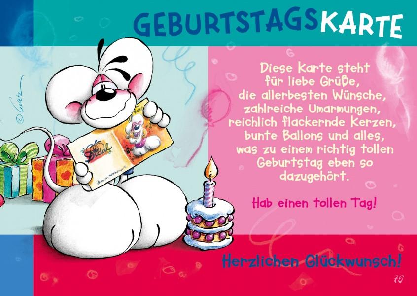 Geburtstagskarten Text  Geburtstagskarte ic & Cartoons