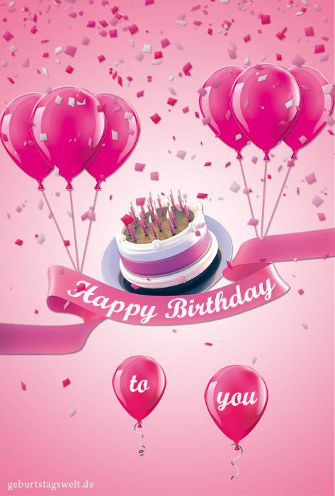 Geburtstagskarten Zum Ausdrucken Kostenlos  Geburtstagskarten Kostenlose Vorlagen zum Ausdrucken und