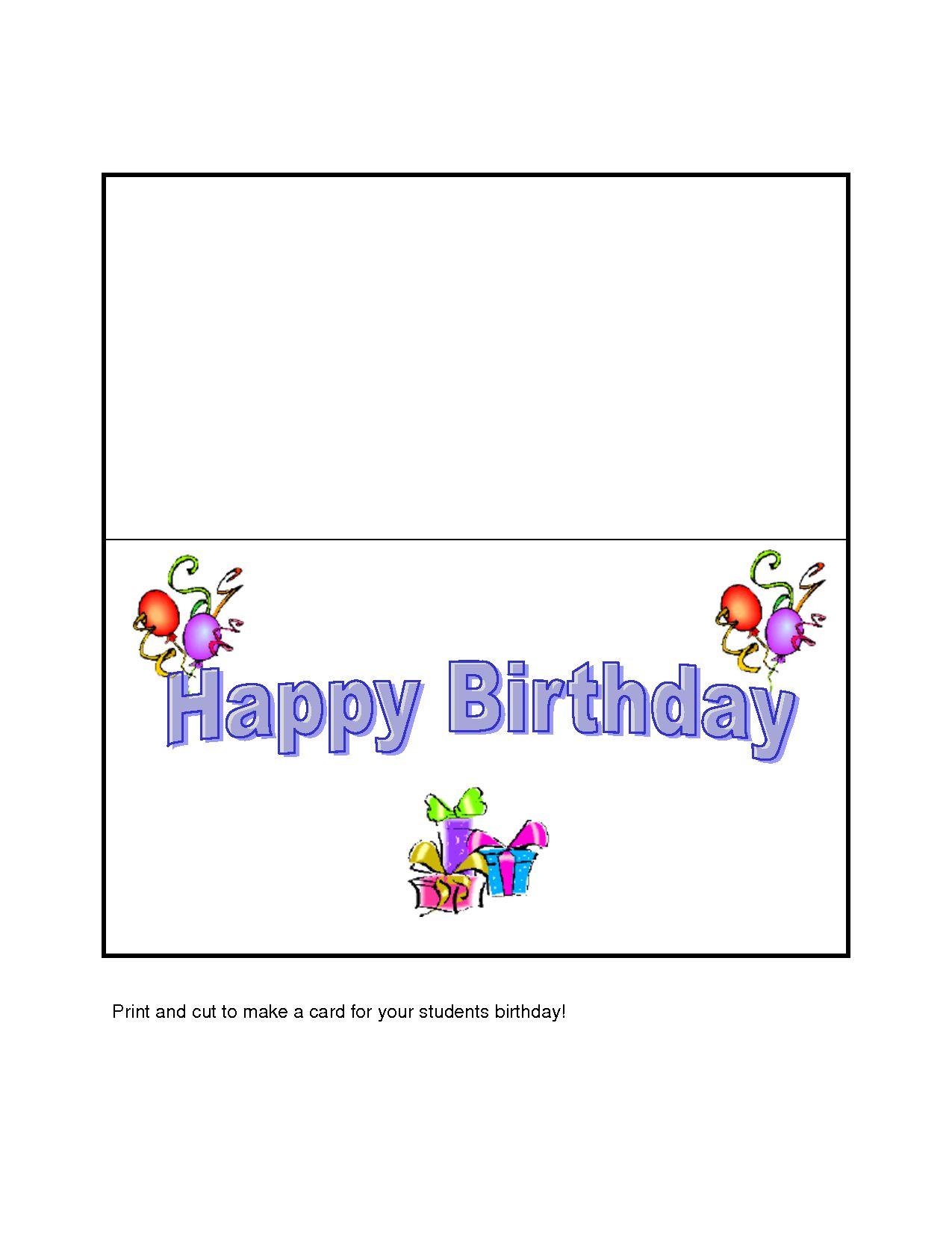 Geburtstagskarten Zum Ausdrucken Kostenlos  Geburtstagskarten Kostenlos Zum Ausdrucken Lustig