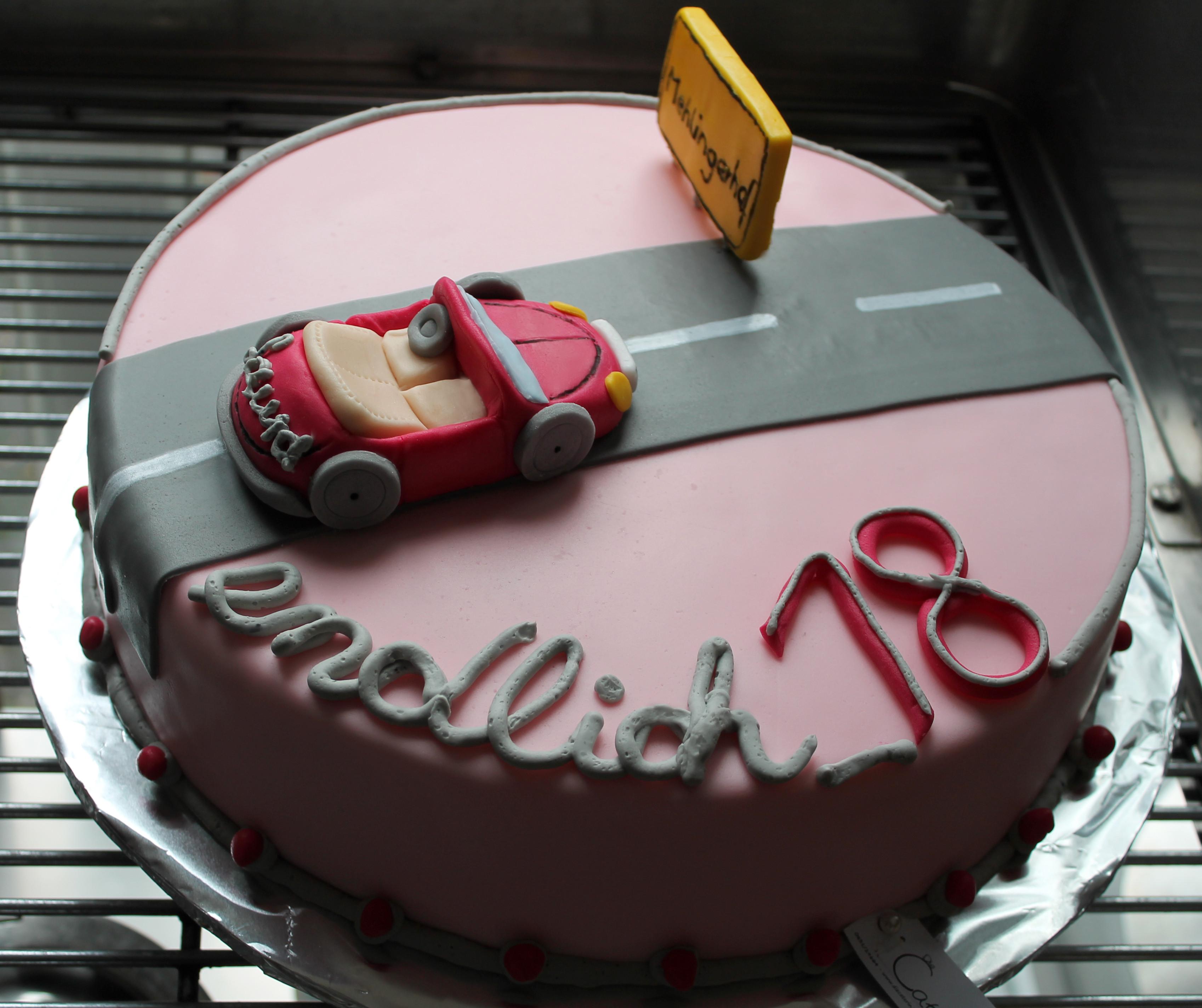 Geburtstagskuchen 18  Geburtstagskuchen