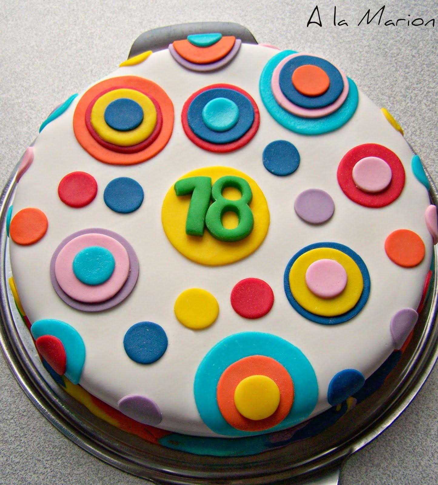 Geburtstagskuchen 18  Geburtstagskuchen 18 Einfach Geburtstagstorte