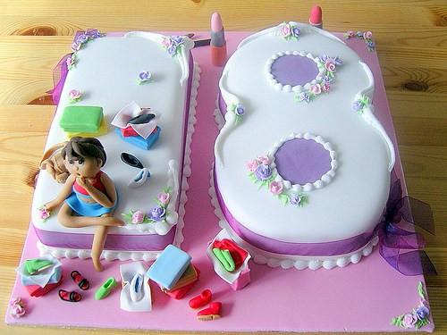 Geburtstagskuchen 18  Geburtstagskuchen 18 Junge Geburtstagstorte