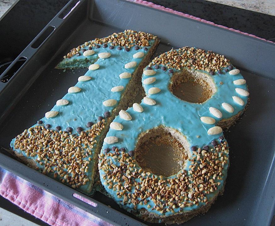 Geburtstagskuchen 18  Geburtstagskuchen Rezept mit Bild von ziba