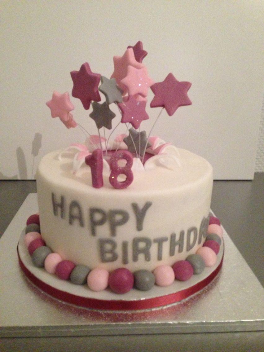 Geburtstagskuchen 18  zum 18 Geburtstag Meine Torten