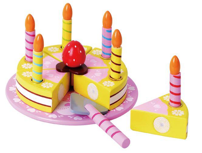 Geburtstagskuchen 5  Geburtstagskuchen aus Holz Besttoy online kaufen