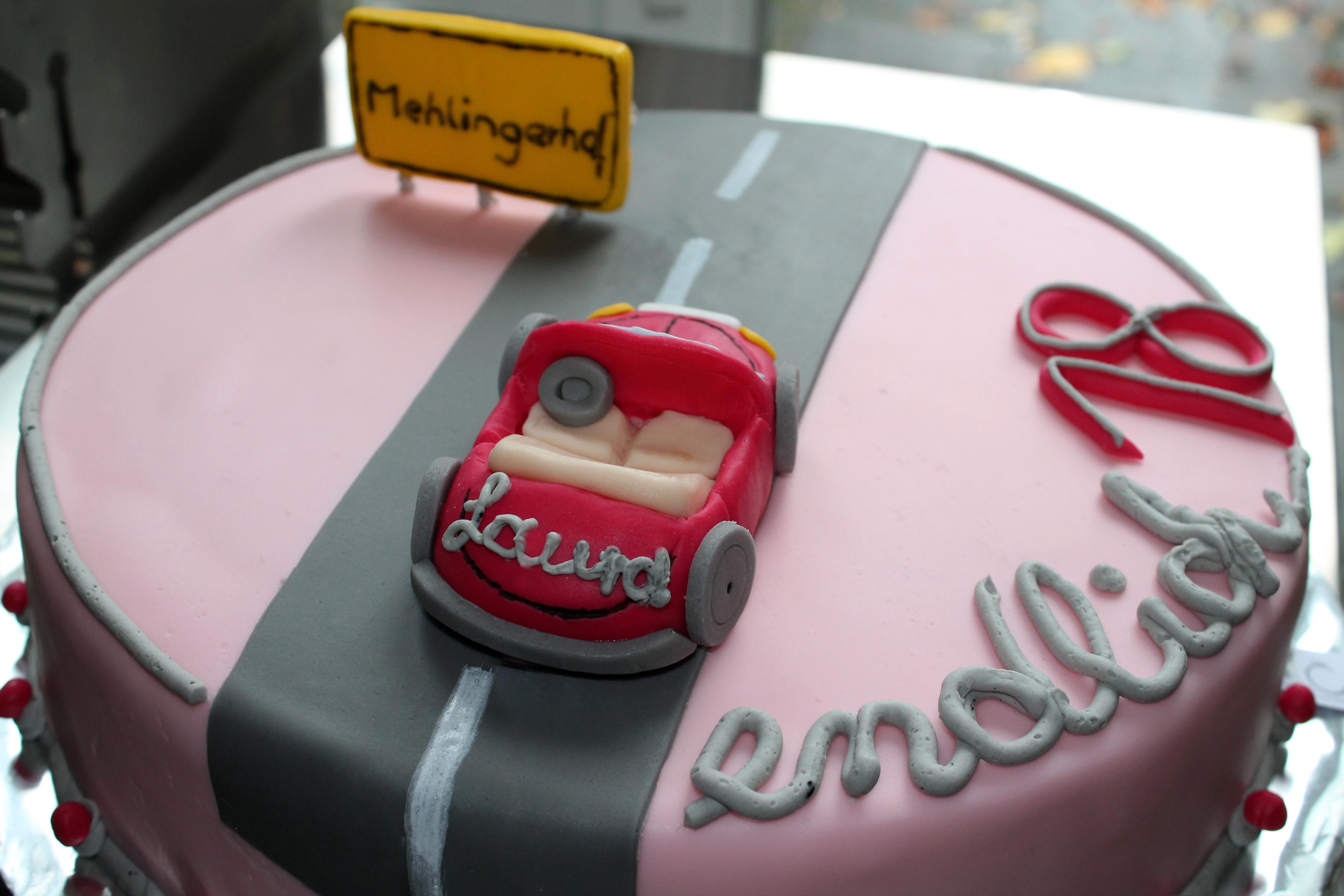 Geburtstagskuchen Auto  Geburtstagskuchen