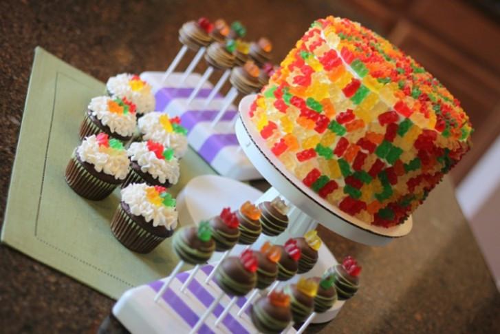 Geburtstagskuchen Deko  Die besten 19 Happy birthday kuchen Ideen auf Pinterest
