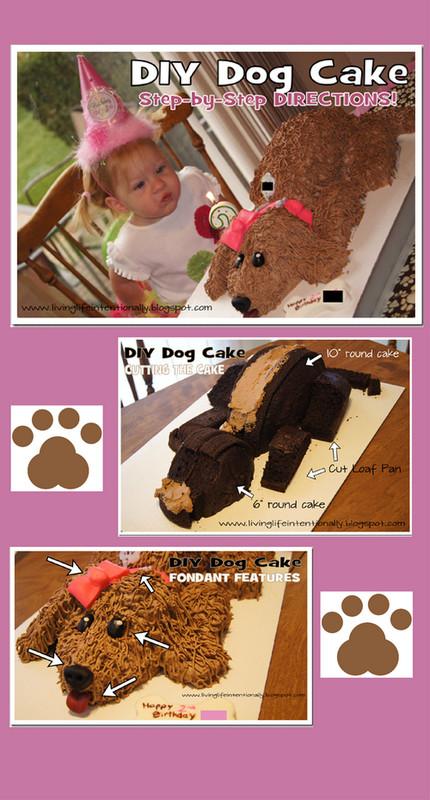 Geburtstagskuchen Hund  Kuchen hund